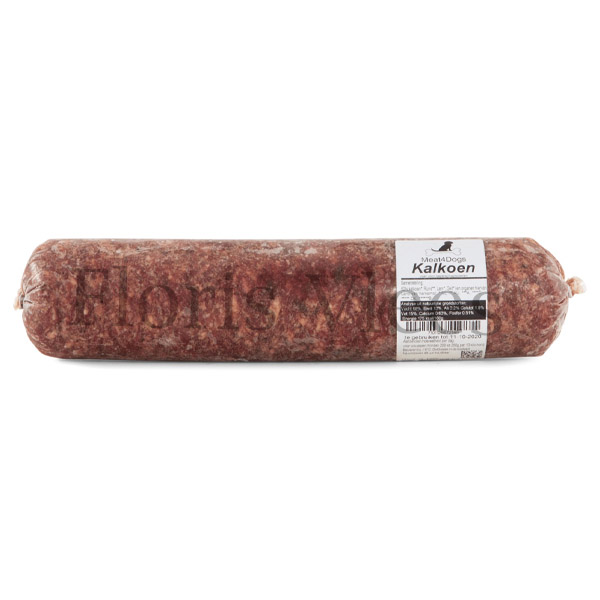 Meat4Dogs Kalkoen mix 10x 1 kilo