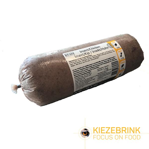 Insect / Kip mix 10x 1 kilo Kiezebrink