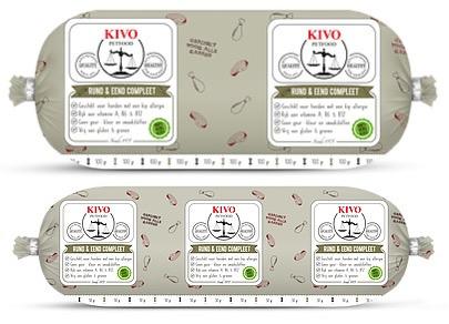 Rund & Eend 10x 1 kilo gram Kivo