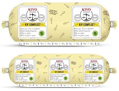 Kip Compleet 10x 1 kilo Kivo