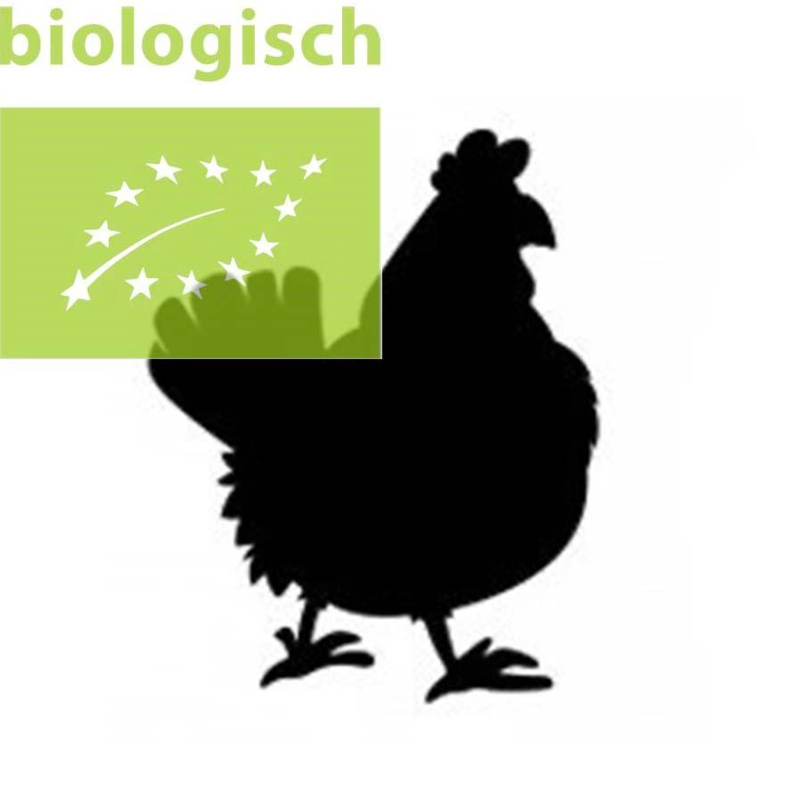 Biologische kipkarkassen ca. 1 kilo