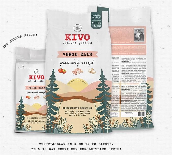 Kivo Zalm brokken - Floris Vlees