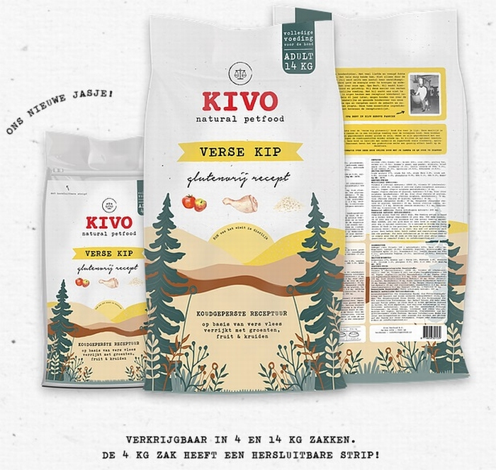 Kivo brokken Kip - Floris Vlees