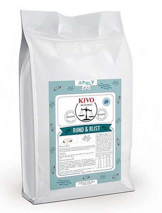 Kivo Rund & Rijst brokken koudgeperst - Floris Vlees